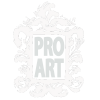 PRO ART sm logo white